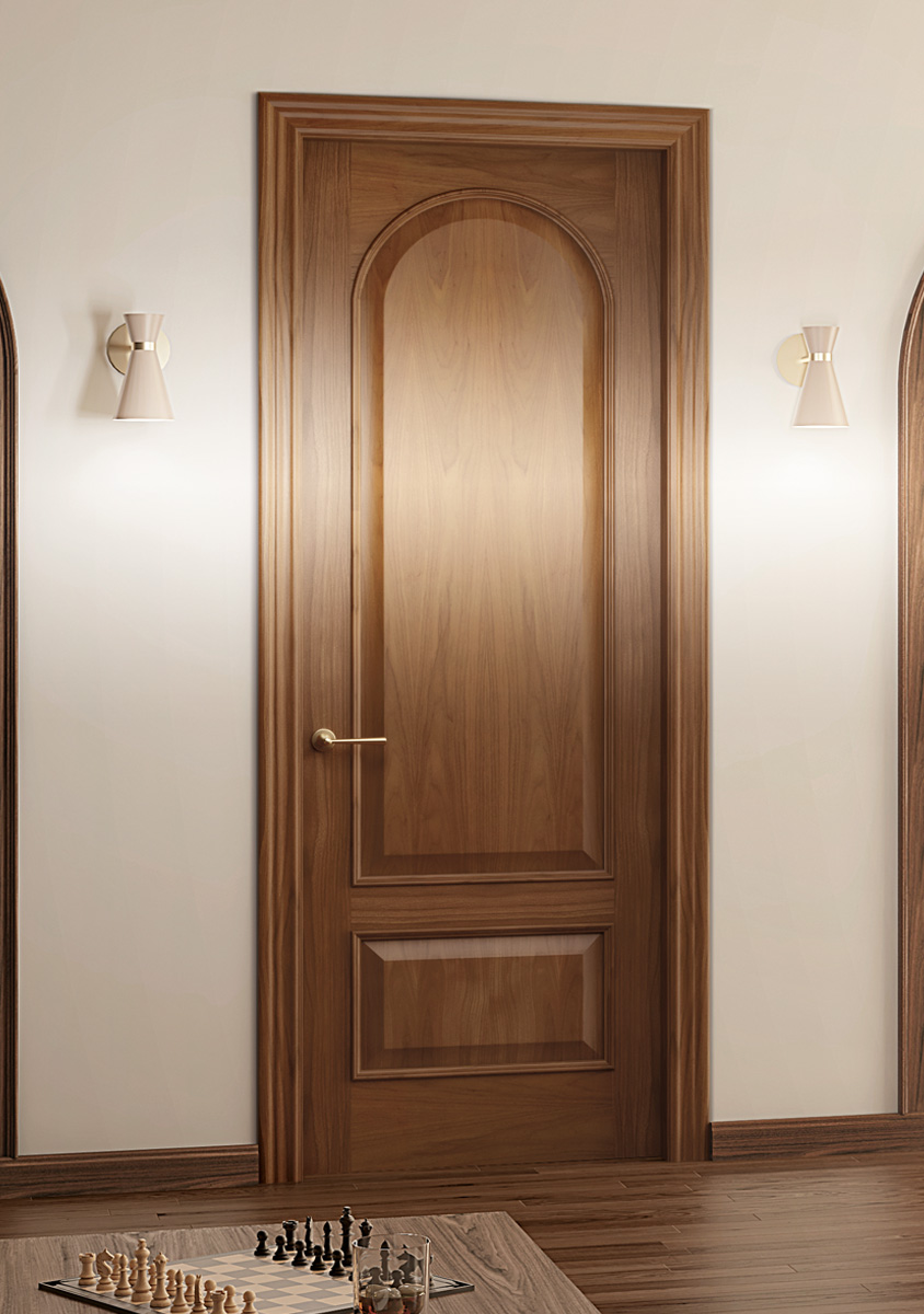 Curved Panel Doors