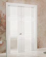 AL911  Lacquered double door